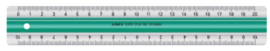 Linex S20 liniaal 20cm (1457)