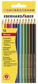 Eberhard Faber 12 kleurpotloden (4127)