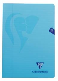 A4 schrift PP kaft 90g blauw