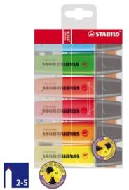 Stabilo Boss markeerstiften 6st (5701)
