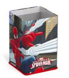 Spiderman pennenstandaard blik