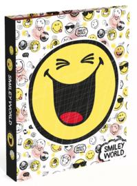 "Smileyworld 4r ringband wit ""1 smiley"" (2169)"