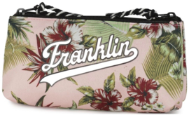 "Franklin & Marshall dubbel etui ""flowers"" (4091)"