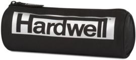 Hardwell etui rond zilver/zwart (9503)