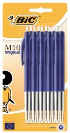 BIC M10 balpennen blauw 10st (0661)