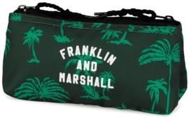Franklin & Marshall boy's dubbel etui groen (9265)