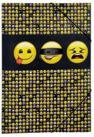 Opbergmap A3 Emoji LTD