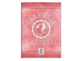 Franklin & Marshall girls A4 schrift geruit (3537)