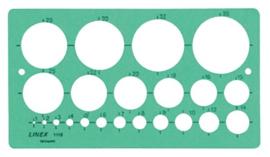 Linex cirkelsjabloon (2126)