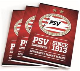 PSV schriften A5 gelinieerd
