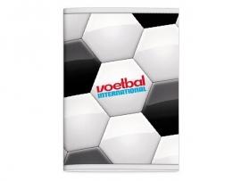 Voetbal international A4 wiskundeschrift