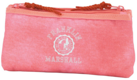Franklin & Marshall dubbel etui roze plat (3744)