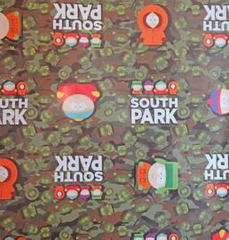 South Park kaftpapier groen (2133)