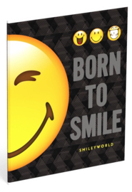 Smileyworld A5 schriften gelijnd (halve smiley) (3747)