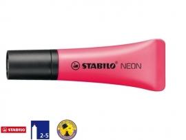 Stabilo markeerstift tube neon roze (1166)