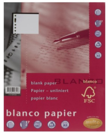 Multo blanco papier 17 rings 80 grams