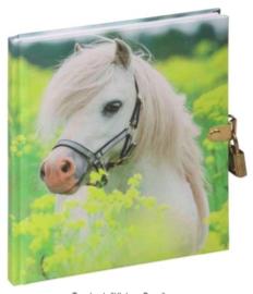 Dagboek paard wit (8219)