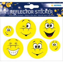 Smiley reflectorstickers (1975)