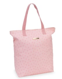 Little Diva shopper roze palmbomen