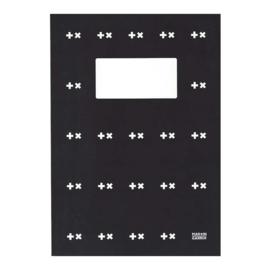 """Martin Garrix A4 ruitjes schrift """"dubbel logo"""" (8183)"""