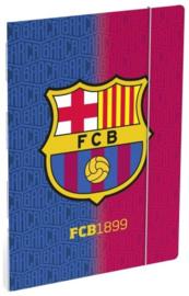 FC Barcelona elastomap A4 rood/blauw (9040)
