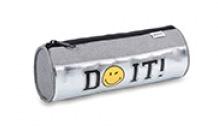 Smileyworld etui grijs/zilver rond (8221)