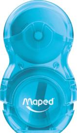 Maped loopy gum/puntenslijper combi blauw (1116)