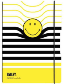 Smiley World A5 schriftomslag streep