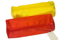 Etui gekleurd budget rood of geel