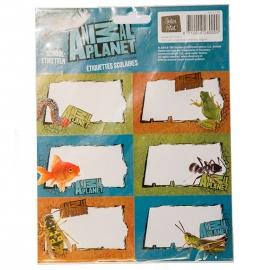 Animal Planet etiketten (0000)