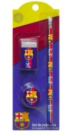 Barcelona schrijfset 3-delig (5826)