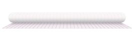 Kaftplastic boeklon 50cm x 25mtr zelfklevend mat transpaprant