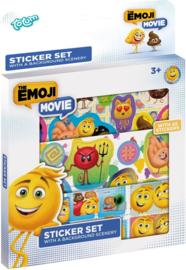 45 Emoji stickers met achtergrond (0000)