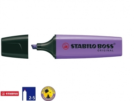 Stabilo Boss markeerstift lavendel (8743)