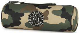 Replay boy's etui camo green rond (4992)
