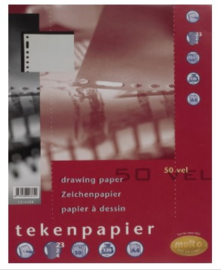 Multo tekenpapier 23 rings 120 grams