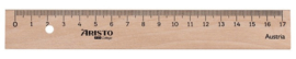 Aristo liniaal 17cm hout (3175)
