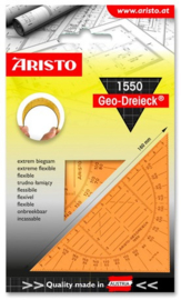 Aristo AR-1550 geodriehoek flexibel oranje
