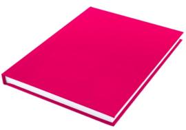 A5  gelinieerd notitieboek roze budget (7442)