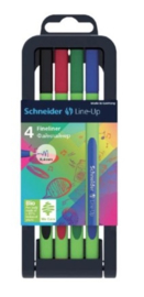Schneider 4x Line up fineliner (9163)