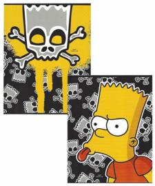 The Simpsons schrift A5 schriften (0801)