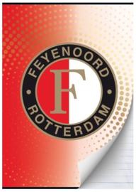 Feyenoord A4 schrift gelijnd (2443)