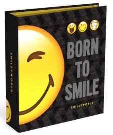 """Smileyworld 80mm ordner """"halve smiley"""""""