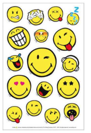 Smiley emoji stickers