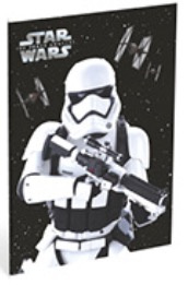 Star Wars Galaxy A4 schrift geruit (4166)