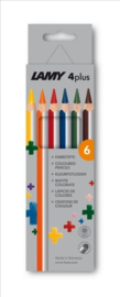 Lamy 4plus kleurpotloden 6st in karton (0039)