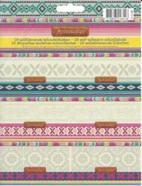 Accessorize Sweet etiketten patroon (8548)
