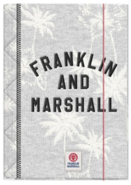 Franklin & Marshall  A4 elastomap grijs (5632)