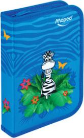 """Maped gevuld schooletui """"zebra"""" (8143)"""