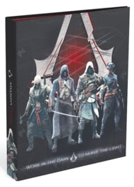 Assassin's Creed 4r ringband donker (1889-D4)